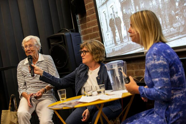 Ebba Ekander och Emilie Ekander i samtal om dåtidens och framtidens Övre.
