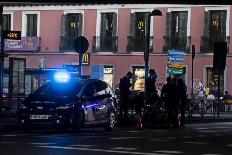 Svenskliga sprängd i Spanien