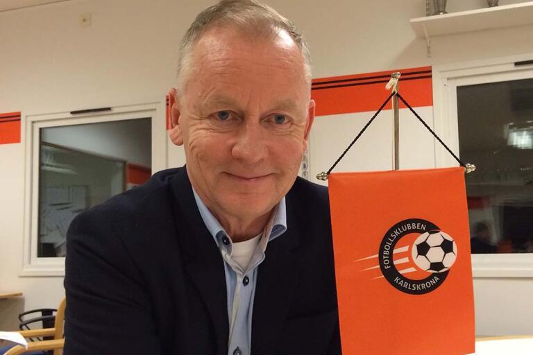 Peter Adaktusson slutar som ordförande i FK Karlskrona.