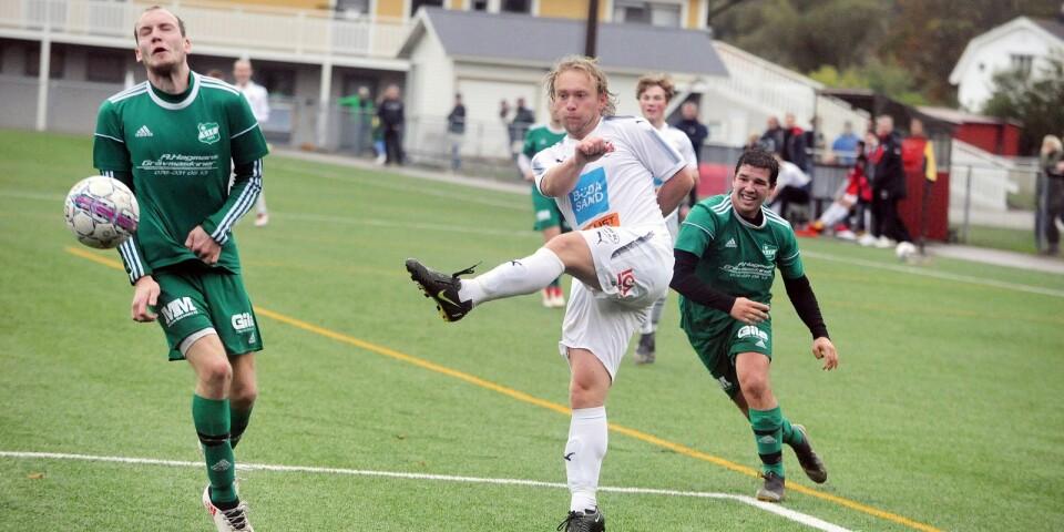 Christian Berg gjorde ett av målen senast för Böda/Högby.