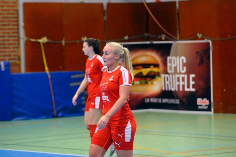 Anfallaren Moa Westerlund gjorde ett mål i semifinalen och två i finalen.