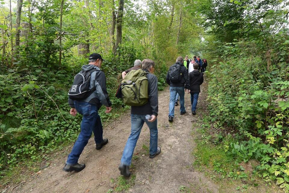 Det finns korta och långa leder att vandra vid Hovdala.