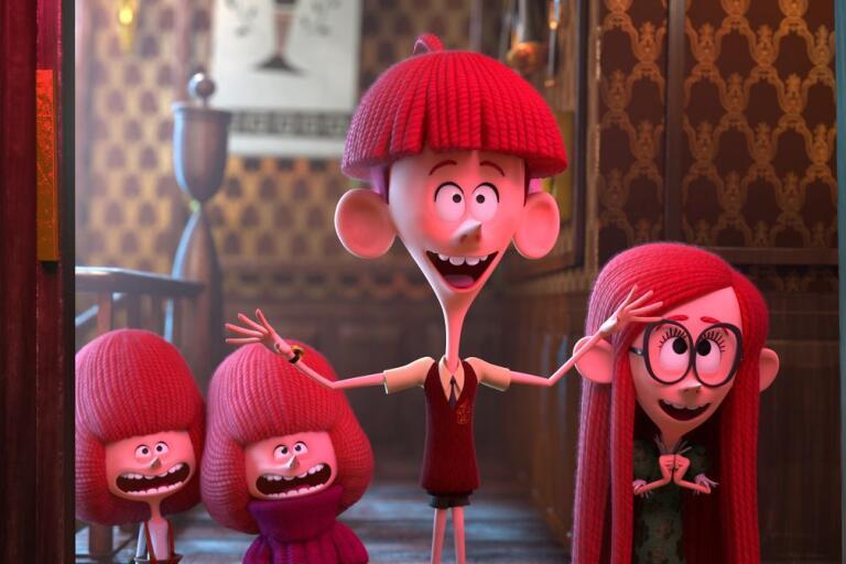 """Syskonen Tim och Jane är huvudkaraktärerna Netflix fantasirika äventyr """"Syskonen Willoughby"""". Rösten som Jane görs av Brämhultsbördiga Wiktoria Johansson."""