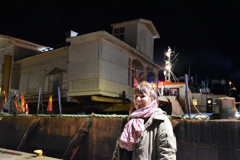 Hillevigs hus hemma efter hundra mil på havet