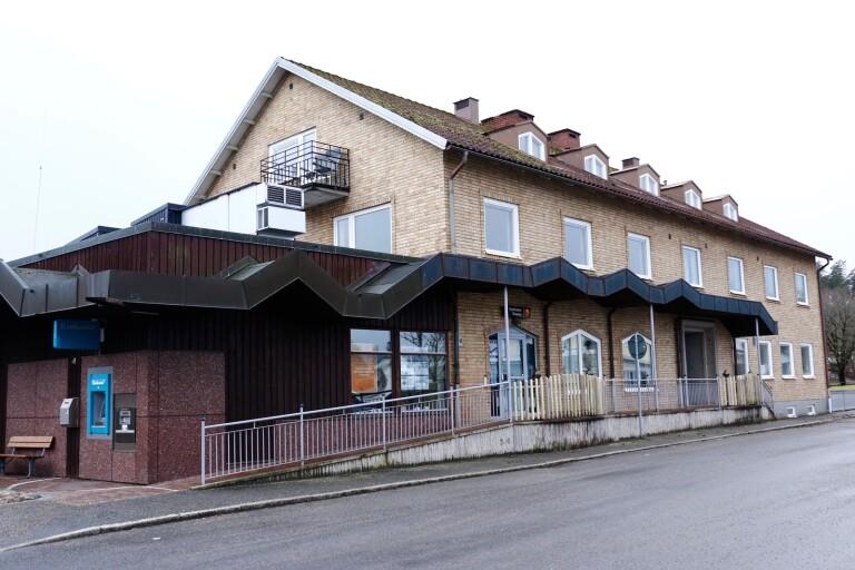 Sparbanken i Dalstorp – stängd för gott.