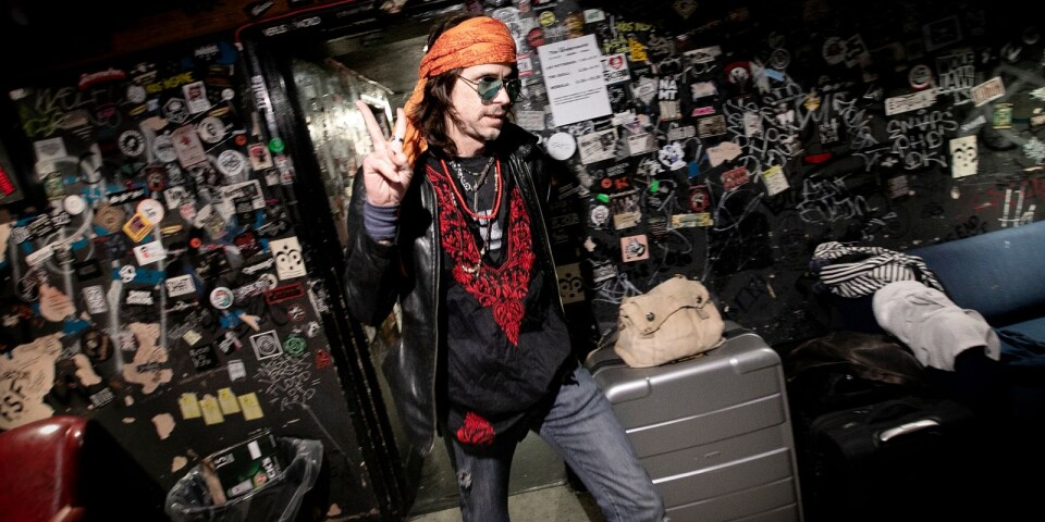 Stonerrocklegendaren Eddie Glass, frontman i Nebula och grundaren av klssiska Fu Manchu.