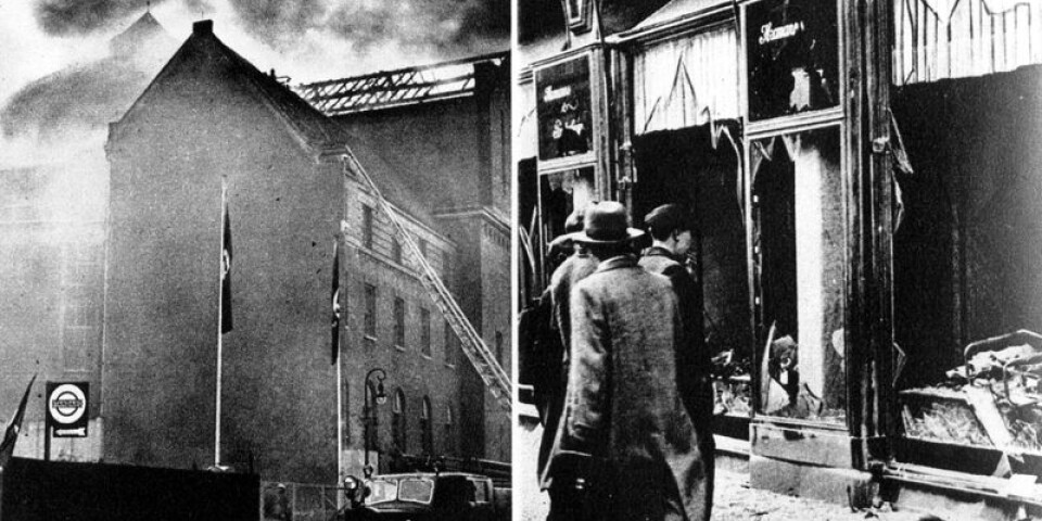 Kristallnatten 1938.