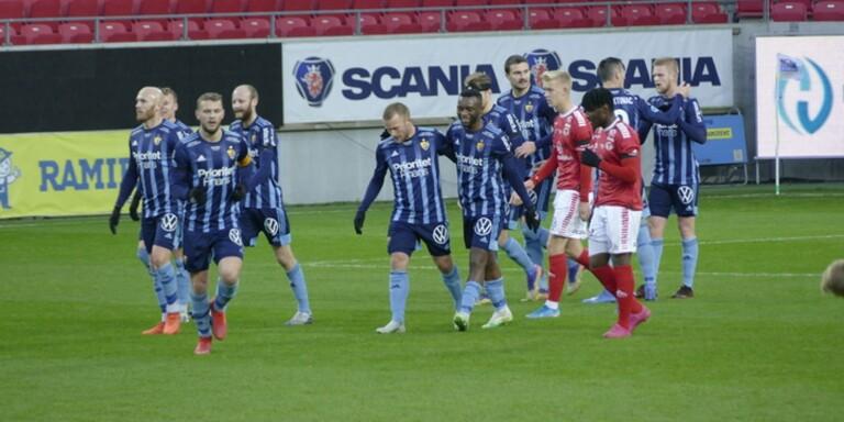 Kalmar FF utan chans mot Djurgården