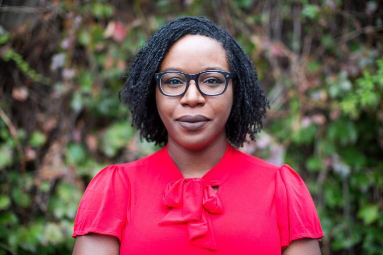 Lesley Nneka Arima tappar aldrig balansen.