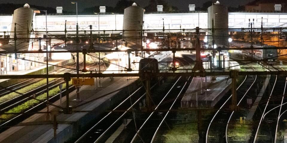 Trafikverkets arbete kommer i huvudsak att ske nattetid mellan den 26 och 29 maj.
