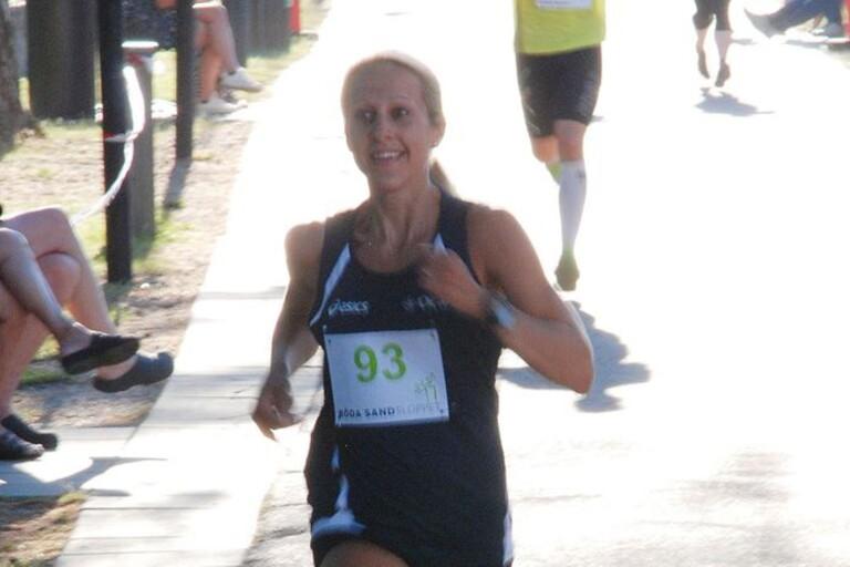 Claes sambo – framgångsrike Ocab running–löparen Martina Bergsell – ska också göra Ironman.