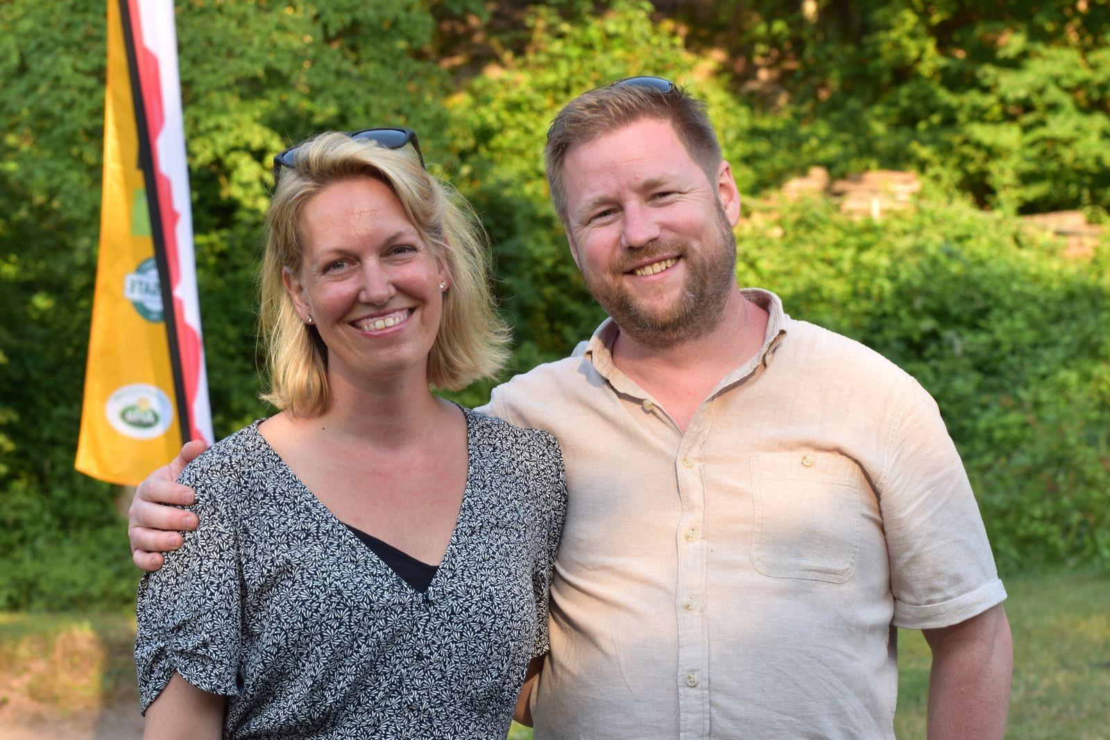 Susanna och Jonas Strandelid såg fram emot en kanonkväll.