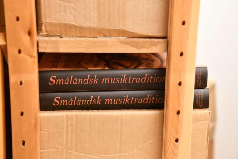 200 år gammal notbok till Smålands Musikarkiv