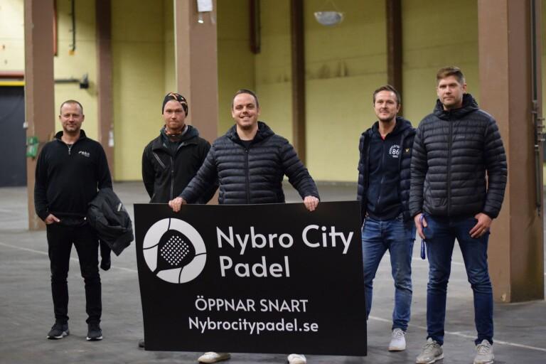 Padelfeber i Nybro – ny hall på gång