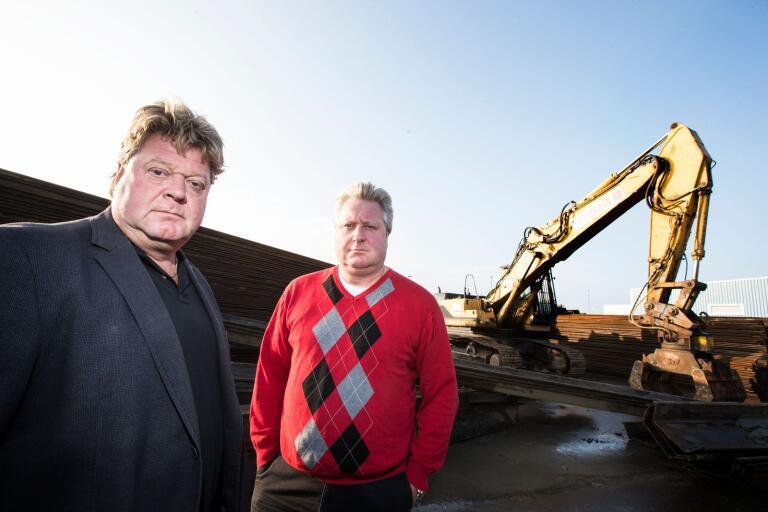 Jonas och Stefan Jönsson är kvar som minoritetsägare av Trellegräv.