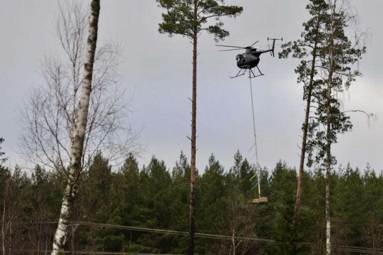 """Helikopterpiloterna som sågar trädtoppar: """"Vi växer inte på träd"""""""