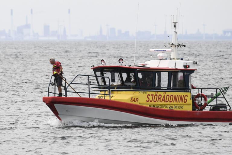 Sjö- och flygräddningcentralen fick rycka ut efter att två båtar krockat strax utanför Skanör. Arkivbild.