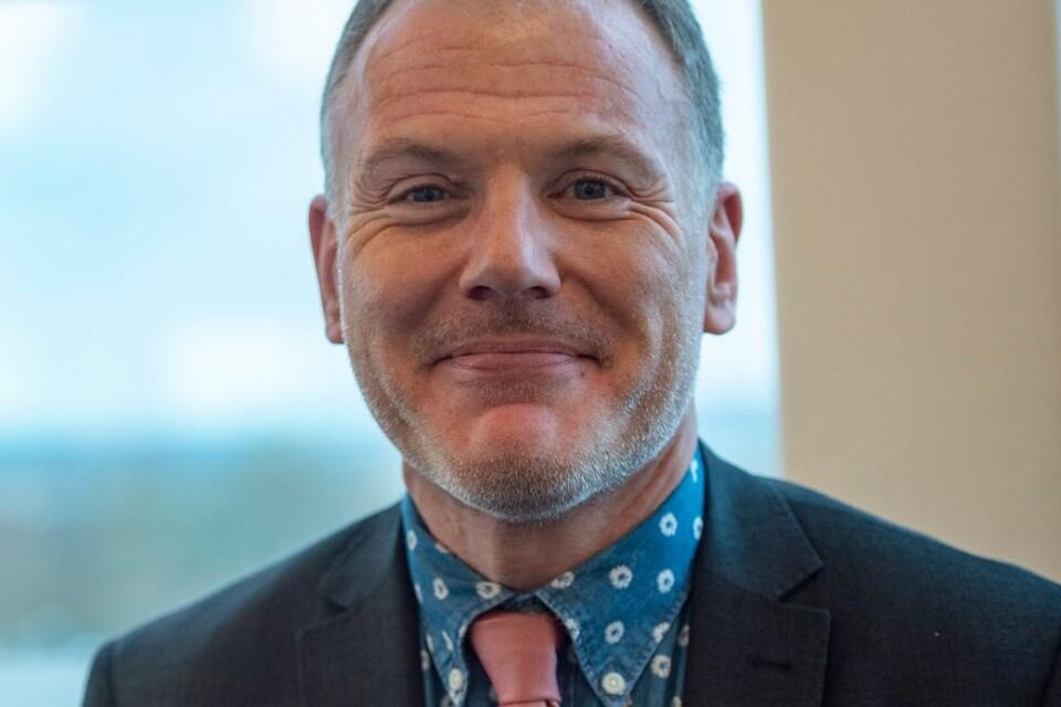 Gilbert Tribo (L) ordförande i Hälso- och sjukvårdsnämnden, Region Skåne.