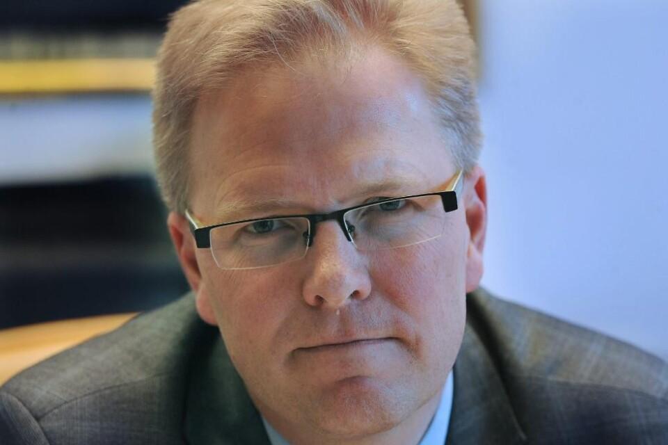 Bo Bengtsson, vd Sparbanken Skåne.