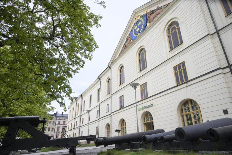 Armémuseum i Stockholm och Flygvapenmuseum i Linköping öppnar återigen efter att ha varit stängda sedan mitten av mars. Arkivbild.