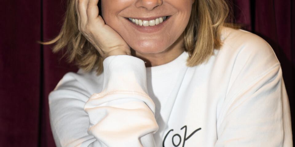"""Pernilla Wahlgren är även aktuell med en ny omgång av """"Wahlgrens värld""""."""