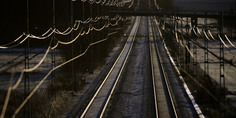 Ett elfel orsakar störa förseningar på Mälarbanan. Arkivbild.