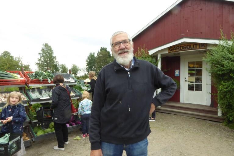 Matrundan har gjort att många nya kunder hittat hit till gårdsbutiken, konstaterade Birger Ask på Ekoboxen i Tävelsås.