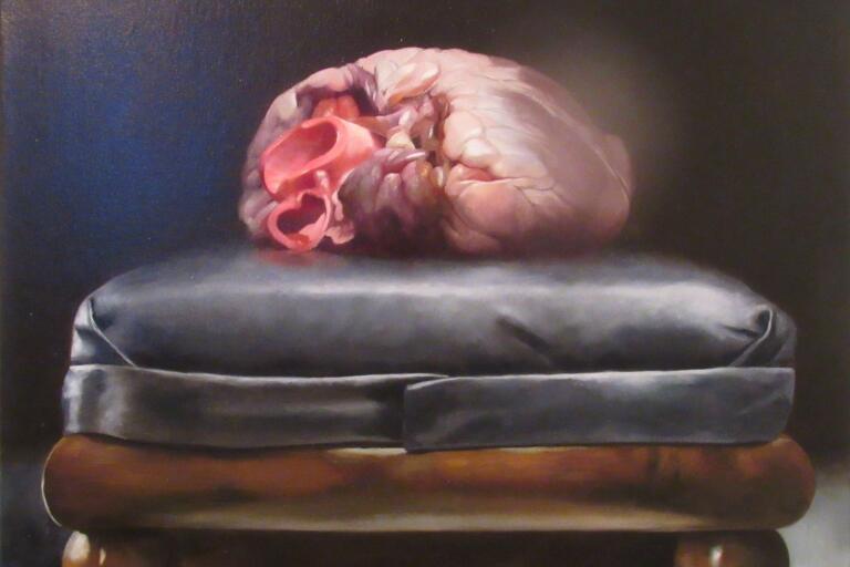 """Markus Åkesson, """"At the Heart of it all"""". Stilleben. Olja"""