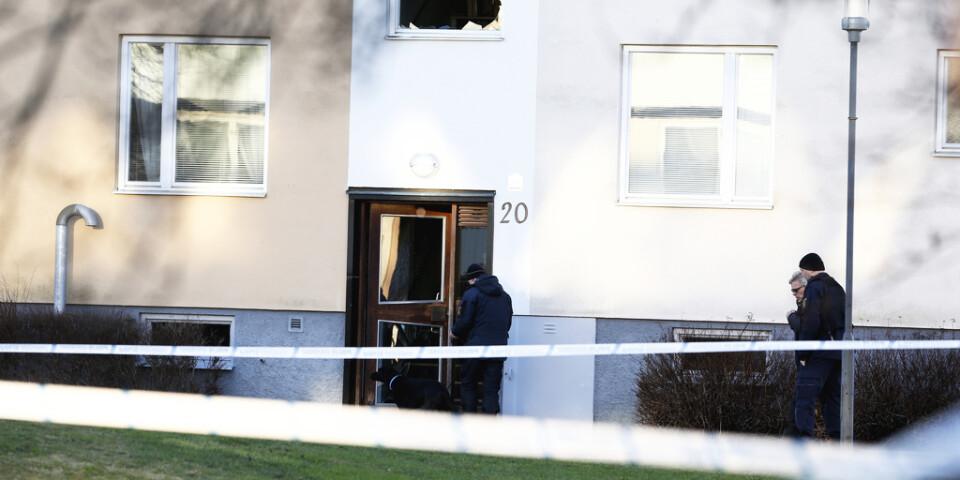 En man som varit anhållen misstänkt för inblandning i ett sprängdåd i Hageby har släppts.
