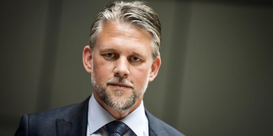 Advokat Conny Cedermark försvarar Anna Lindstedt.