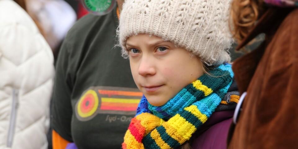Greta Thunberg hamnar fel om kapitalism och tillväxt.