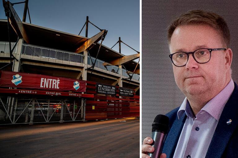 Jonas Karlsson hoppas att det snart spelas superettanmatcher på Myresjöhus Arena igen.