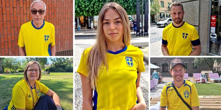 Fem boråsare tippar Sveriges åttondelsfinal