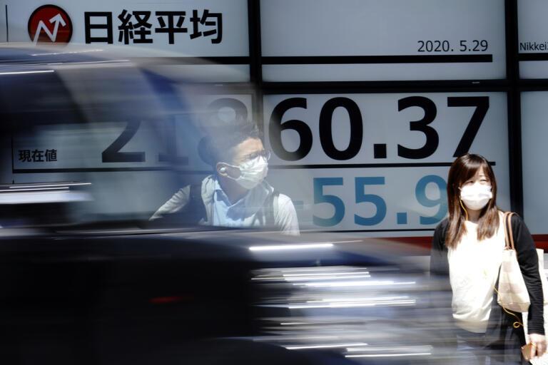 Japanska Nikkei 225 i Tokyo backar i fredagens inledande handel. Arkivbild.