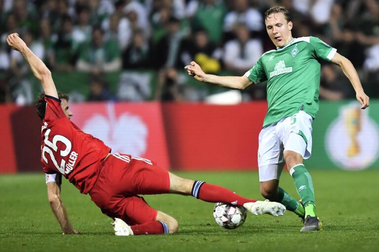 Ludwig Augustinsson, här i en match mot Bayern München förra säsongen, är tillbaka från sin knäskada. Arkivbild.