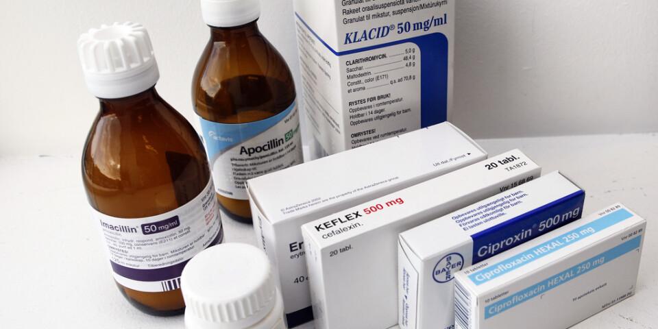 Förskrivningen av antibiotika har minskat drastiskt i år. Arkivbild.