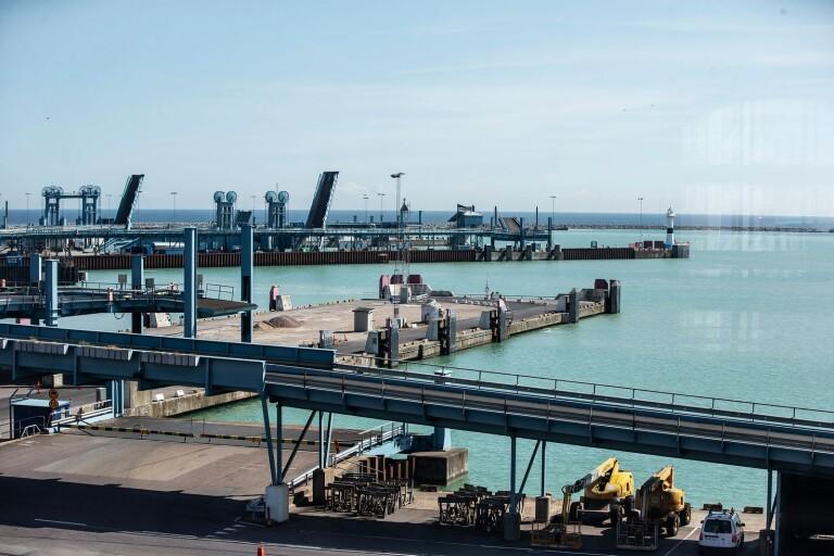 Trelleborgs hamn.