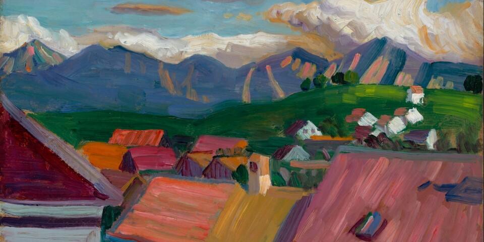 """Gabriele Münter: """"Vom Griesbräu-Fenster"""" (1908)"""