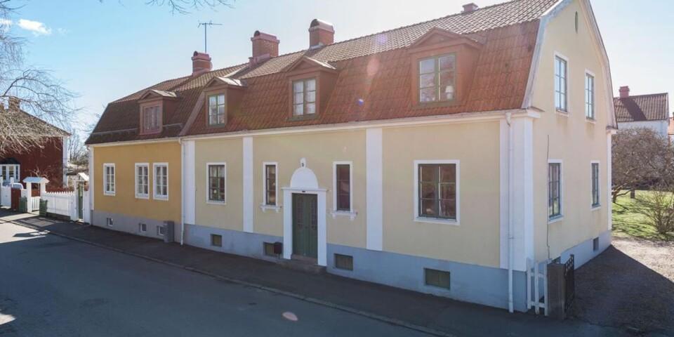 6. S:ta Britas gata 9, Kalmar, Kalmar. Boyta: 186 kvadratmeter. Utropspris: 6 500 000 kr.