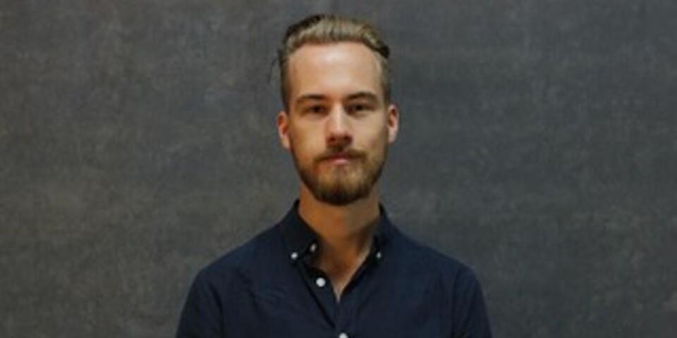 Rasmus Kvist från konstskolan SARA.