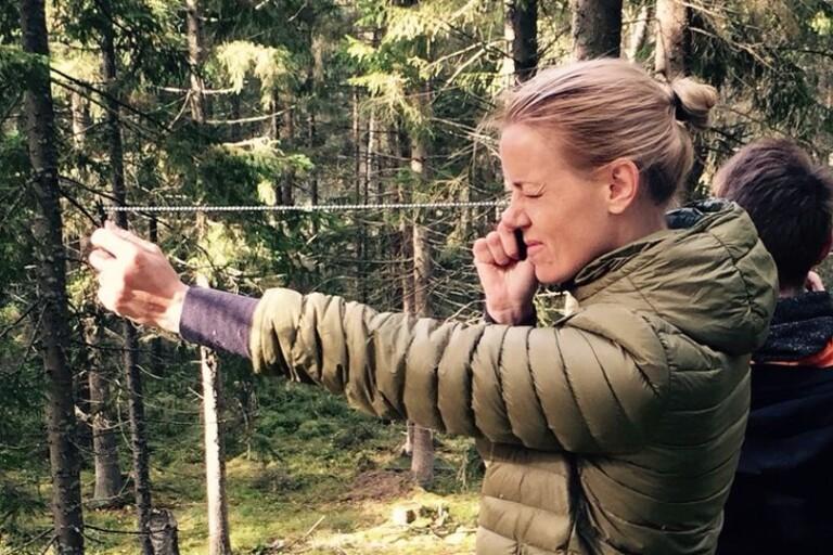 """Hon vill bryta männens dominans i skogen: """"Tar alldeles för lång tid"""""""