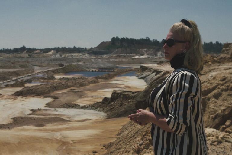 """Aktivisten Mariette Liefferink är huvudpersonen  i dokumentären """"Jozi gold."""