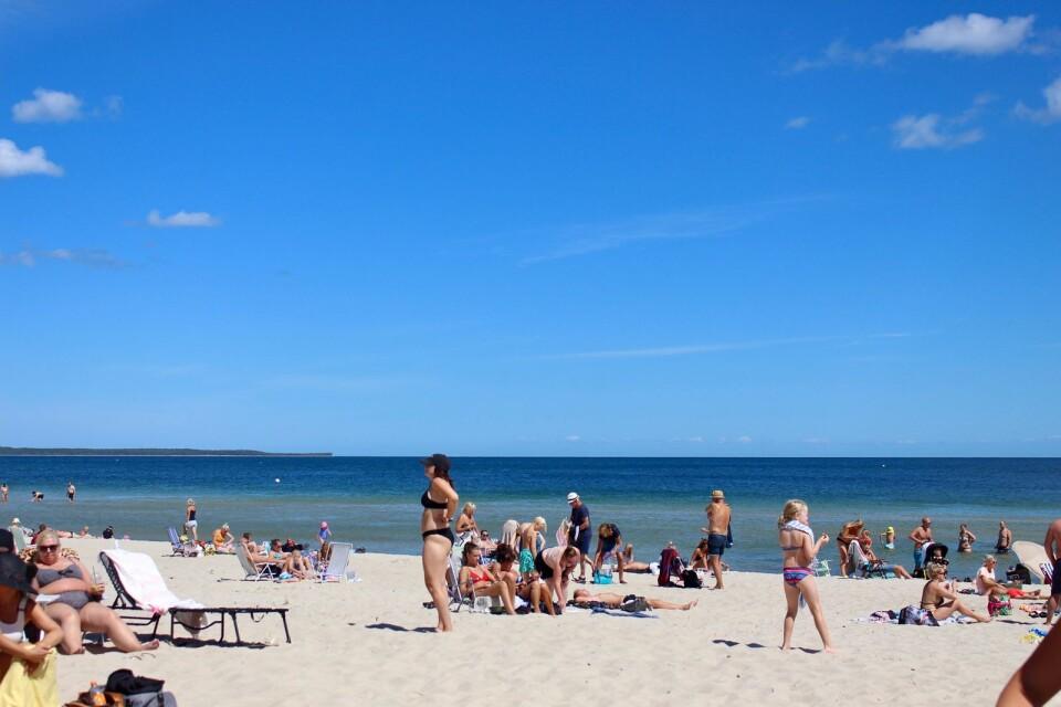 Norra Öland, här på Böda Sand, borde kunna bli mer en sommarö, menar insändarskribenten.