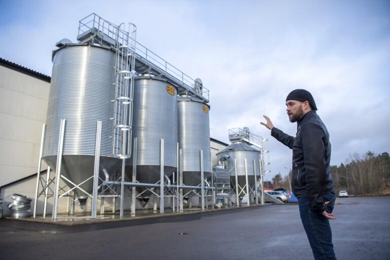 Basen till en av världens mest populära drycker görs i Hovmantorp