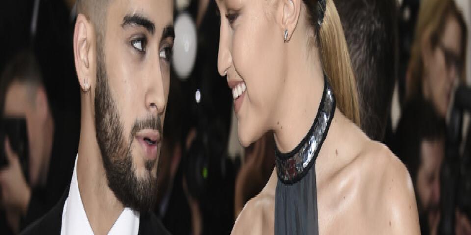 Sångaren Zayn Malik och modellen Gigi Hadid har blivit föräldrar. Arkivbild.