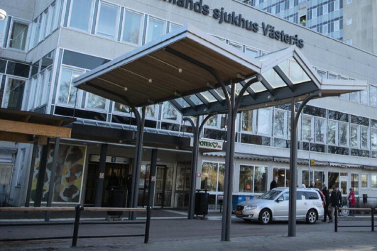 Västmanlands sjukhus i Västerås. Arkivbild.