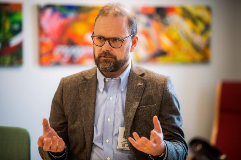 Hälso- och sjukvårdsdirektör Johan Rosenqvist.