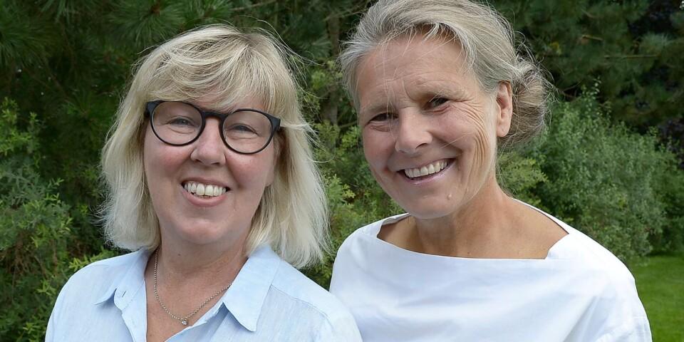 Kerstin Svensson och Bitte E:son Forsberg .