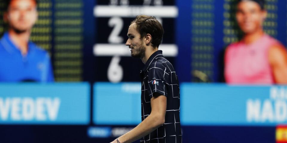 Daniil Medvedev spelar final i London mot Dominic Thiem.