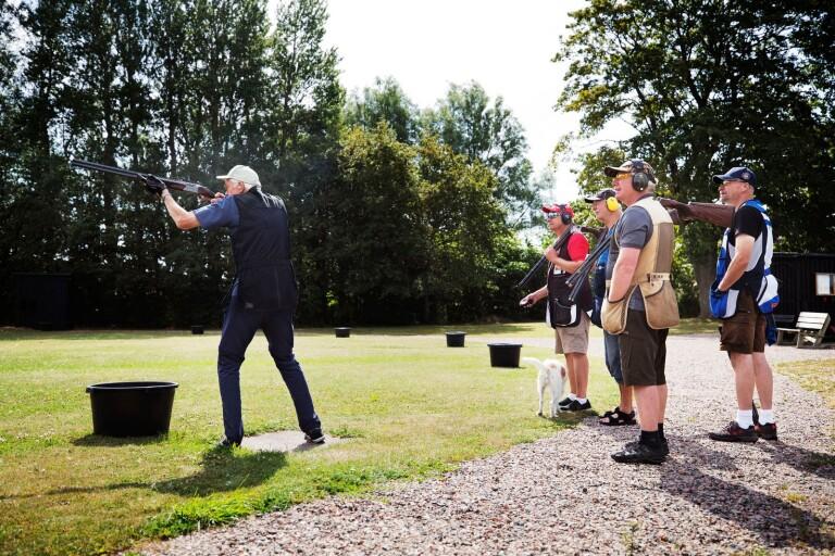 Många vill komma till skott hos jaktskytteklubben